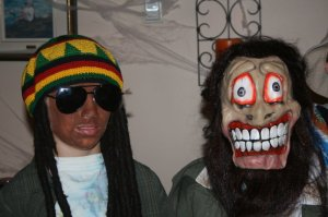 "Rasta Will and ""a scary I dont' remember who?"""
