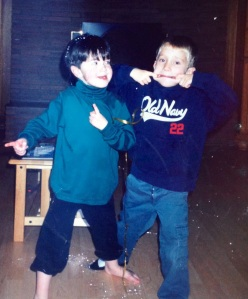 Friends Forever:  Calvin and Will at age 5