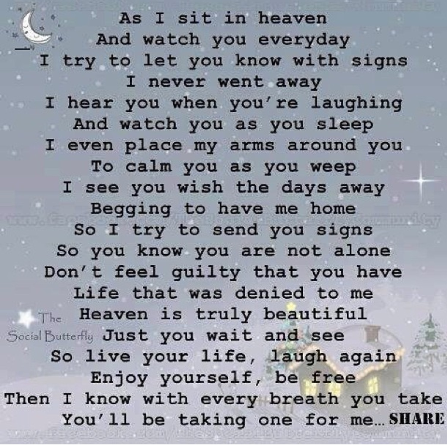 Loved Ones In Heaven Quotes: Love Letters To Will