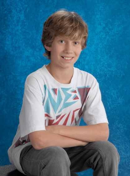 Will's Grade 7 School Photo copy 3